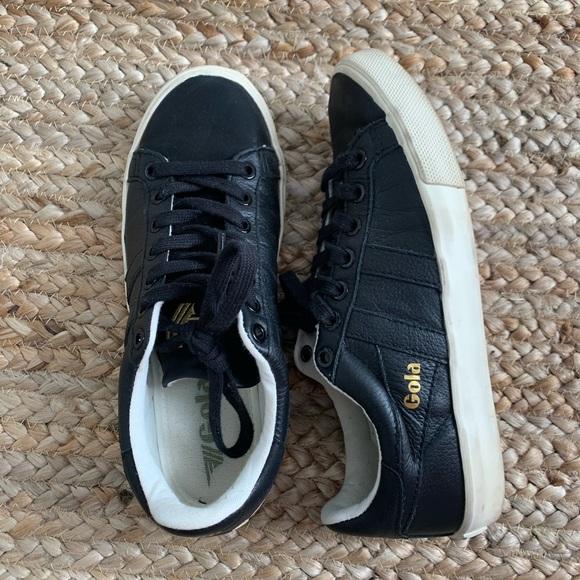 Gola Shoes   Gola Black Sneaker   Poshmark